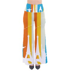 Eiffel Tower Monument Statue Of Liberty Pants