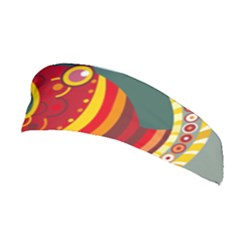 Fish Predator Sea Water Beach Monster Stretchable Headband