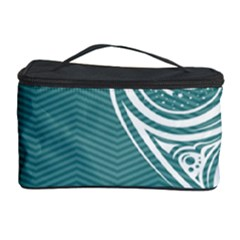Line Wave Chevron Star Blue Love Heart Sea Beach Cosmetic Storage Case