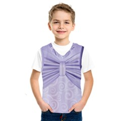 Ribbon Purple Sexy Kids  Sportswear