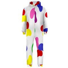 Seed Beans Color Rainbow Hooded Jumpsuit (Men)