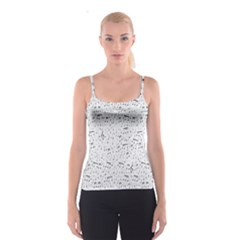 Musical Notes Song Spaghetti Strap Top