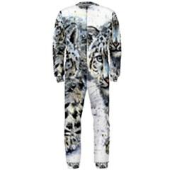 Snow Leopard Onepiece Jumpsuit (men)