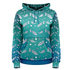 Under The Sea Paisley Women s Pullover Hoodie