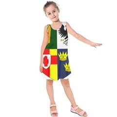 Arms of Four Provinces of Ireland  Kids  Sleeveless Dress