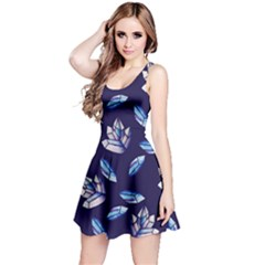 Mystic Crystals Witchy Vibes  Reversible Sleeveless Dress
