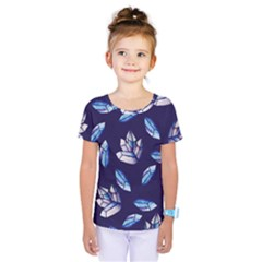 Mystic Crystals Witchy Vibes  Kids  One Piece Tee