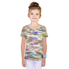 Colorful Watercolors              Kids  One Piece Tee