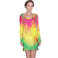 Pastel shapes painting            nightdress