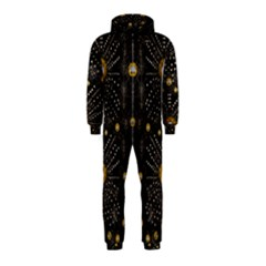Lace Of Pearls In The Earth Galaxy Pop Art Hooded Jumpsuit (kids)