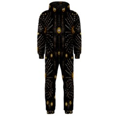 Lace Of Pearls In The Earth Galaxy Pop Art Hooded Jumpsuit (men)