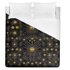Lace Of Pearls In The Earth Galaxy Pop Art Duvet Cover (queen Size)