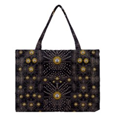 Lace Of Pearls In The Earth Galaxy Pop Art Medium Tote Bag