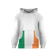 Flag of Ireland  Kids  Pullover Hoodie