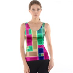 Rectangles and squares              Tank Top