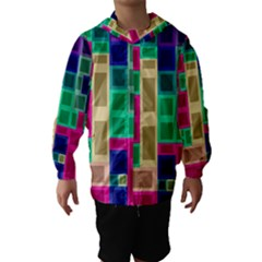Rectangles And Squares              Hooded Wind Breaker (kids)