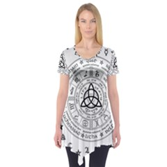 Witchcraft symbols  Short Sleeve Tunic