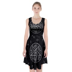 Witchcraft symbols  Racerback Midi Dress