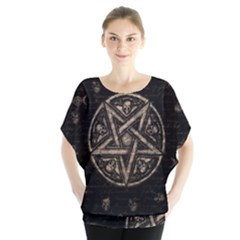 Witchcraft symbols  Blouse