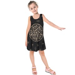 Witchcraft symbols  Kids  Sleeveless Dress