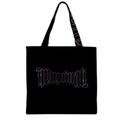 Illuminati Zipper Grocery Tote Bag