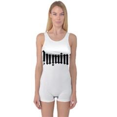 Illuminati One Piece Boyleg Swimsuit