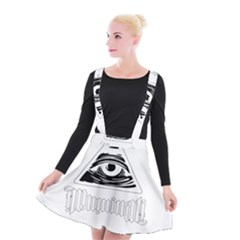 Illuminati Suspender Skater Skirt