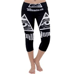 Illuminati Capri Yoga Leggings