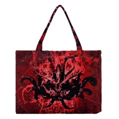 Scary Background Medium Tote Bag