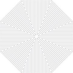 Dove Grey Pin Stripes on White Golf Umbrellas
