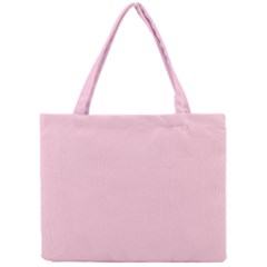 Light Soft Pastel Pink Solid Color Mini Tote Bag