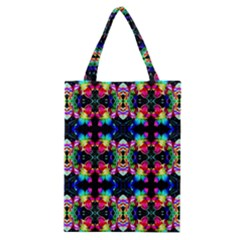 Colorful Bright Seamless Flower Pattern Classic Tote Bag