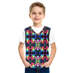 Colorful Bright Seamless Flower Pattern Kids  Sportswear