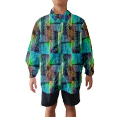 Abstract Square Wall Wind Breaker (Kids)