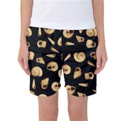 Shell pattern Women s Basketball Shorts