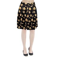 Shell pattern Pleated Skirt