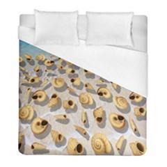 Shell pattern Duvet Cover (Full/ Double Size)