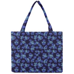 Autumn Leaves Motif Pattern Mini Tote Bag