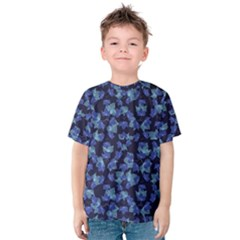 Autumn Leaves Motif Pattern Kids  Cotton Tee