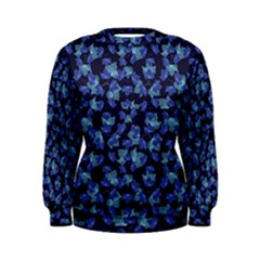 Autumn Leaves Motif Pattern Women s Sweatshirt