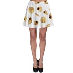 Shell pattern Skater Skirt