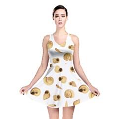 Shell pattern Reversible Skater Dress