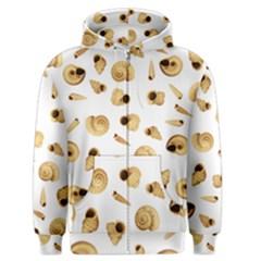 Shell pattern Men s Zipper Hoodie