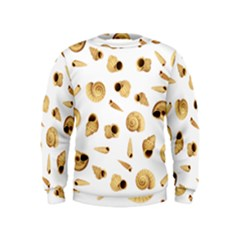 Shell pattern Kids  Sweatshirt