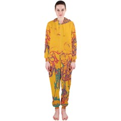 Colors Hooded Jumpsuit (Ladies)