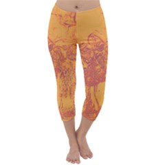 Colors Capri Winter Leggings