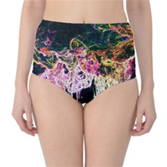 Colors High-Waist Bikini Bottoms