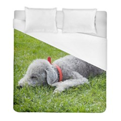 Bedlington Terrier Sleeping Duvet Cover (Full/ Double Size)