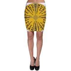 Wheel Of Fortune Australia Episode Bonus Game Bodycon Skirt