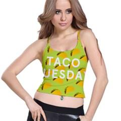 Bread Taco Tuesday Spaghetti Strap Bra Top